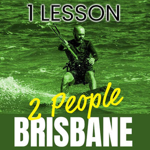 2 People Casual Kitesurfing Lesson at North Brisbane