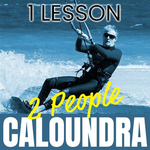 2 People Casual Kitesurfing Lesson at Caloundra