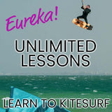 Unlimited lessons!* Eureka Learn to Kite Program