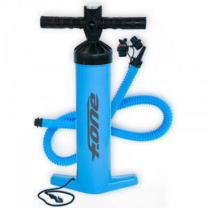 F-ONE Kiteboarding Kitesurfing Kite Pump Blue
