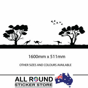 Large Australian sticker for RV Motorhome, 4x4, horse float trailer ,car decal