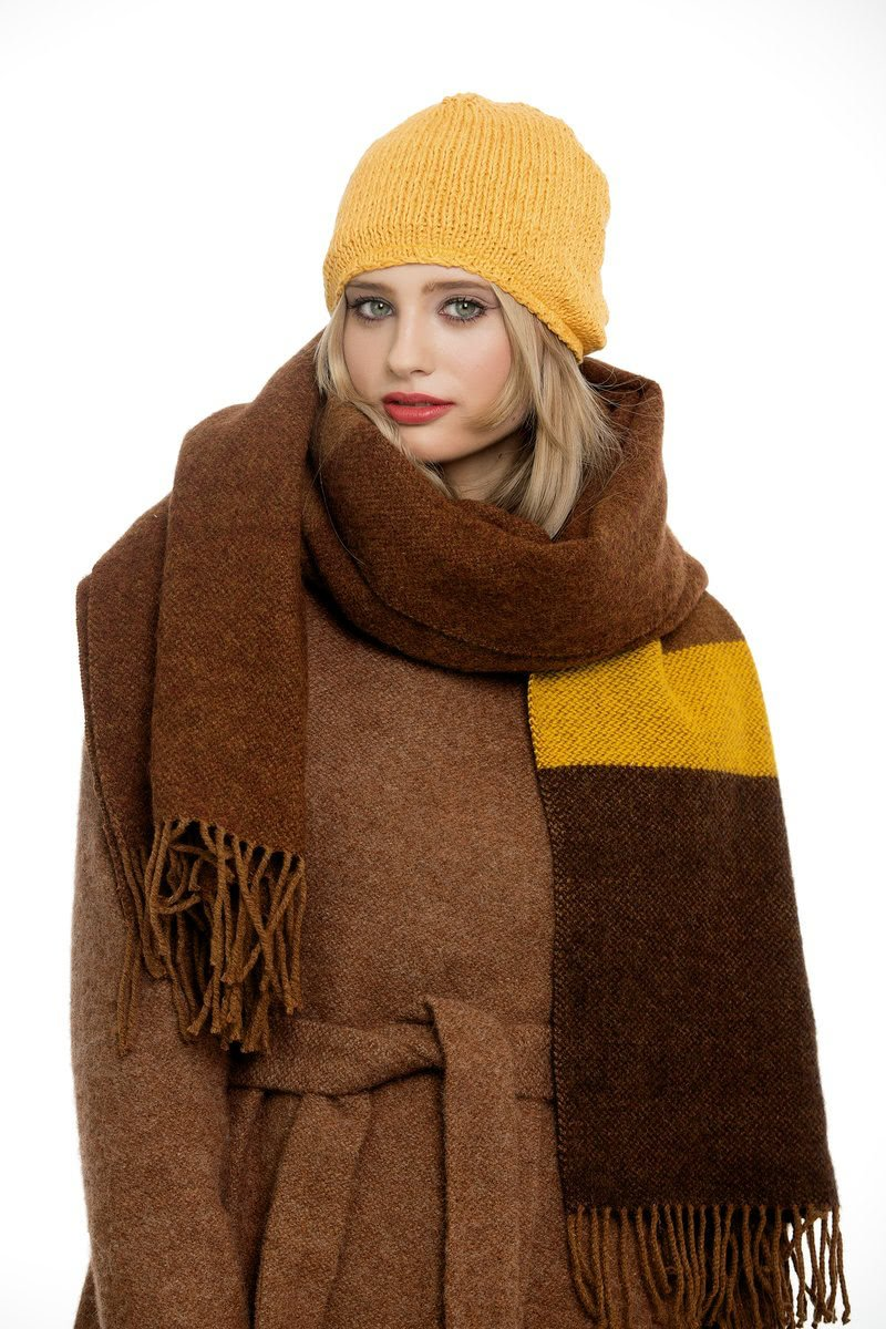 Brown-ochre Scarf