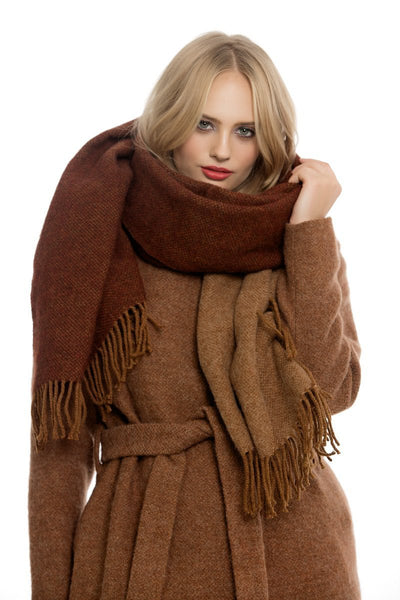Brown Copper Scarf