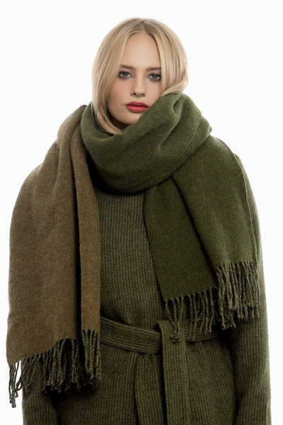 Dark Green Scarf