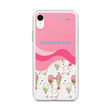 [CUSTOMIZABLE] COLOR-POPSICLE (PINK) BY FLUFF ISLAND FOR IPHONE