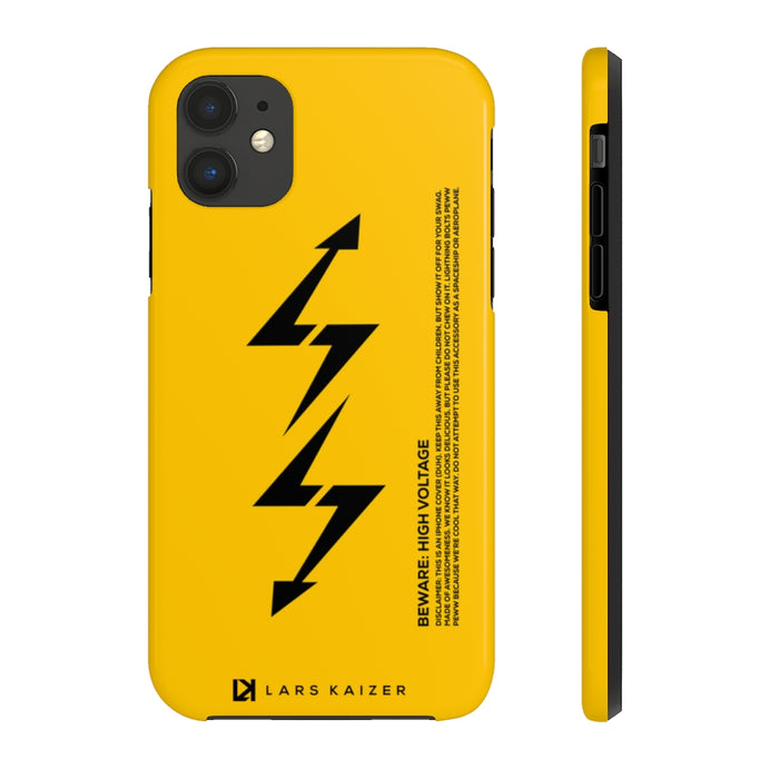 ULTRA TOUGH SERIES: LTNG | YELLOW FOR IPHONE - LARS KAIZER