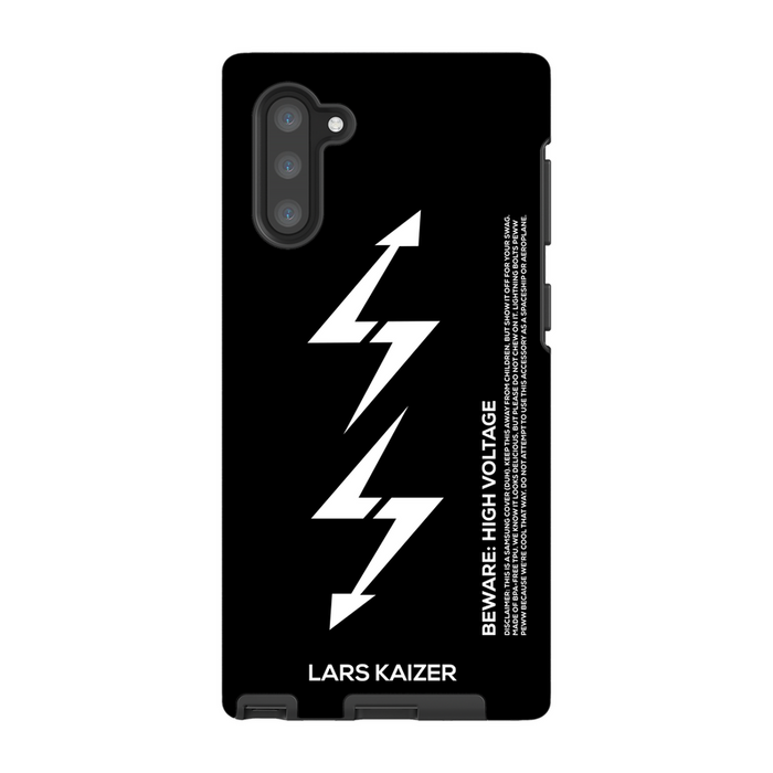 Black Samsung Galaxy Note 10 lightning case