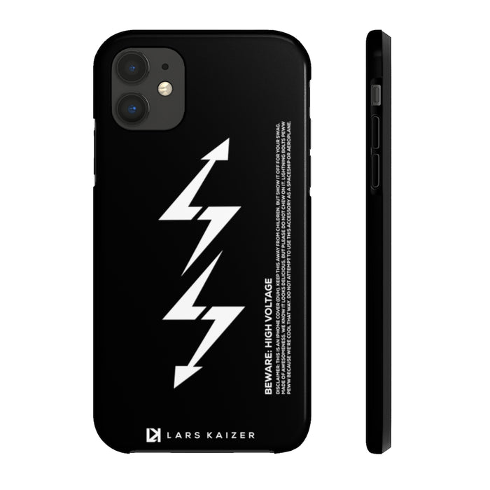 ULTRA TOUGH SERIES: LTNG | BLACK FOR IPHONE - LARS KAIZER