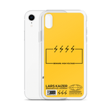 [CUSTOMIZABLE] LTNG TYPOGRAPHY FOR IPHONE | YELLOW - LARS KAIZER