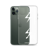 iPhone 11 Series Exclusive: LTNG-00 Case I White Text/Transparent - LARS KAIZER