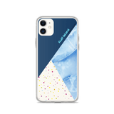 MARBLE-FETTI BLUE BY FLUFF ISLAND FOR IPHONE 11 SERIES