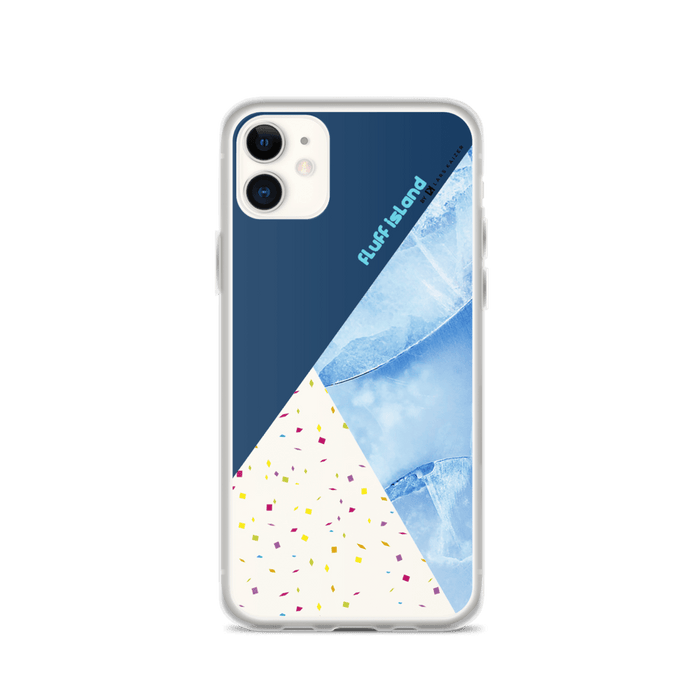 MARBLE-FETTI BLUE BY FLUFF ISLAND FOR IPHONE 11 SERIES - LARS KAIZER