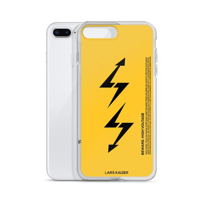 iPhone 7/8/PLUS LTNG-02 Case I YELLOW MATTE - LARS KAIZER