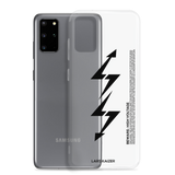 [CUSTOMIZABLE] Samsung Galaxy S20 LTNG | BLACK TEXT / TRANSPARENT - LARS KAIZER