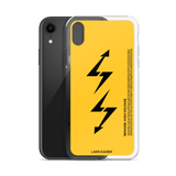 iPhone XS/XR Series: LTNG-02 Case I YELLOW MATTE - LARS KAIZER