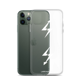 [CUSTOMIZABLE] LTNG for iPhone 11 | WHITE TEXT/ TRANSPARENT - LARS KAIZER