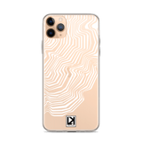 iPhone 11 Series: TOPO-01 Case I White - LARS KAIZER