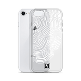 iPhone 7/8/PLUS TOPO-01 Case I White - LARS KAIZER