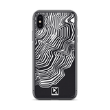 iPhone XS/XR Series: TOPO-01 Case I White - LARS KAIZER