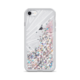 GLITTER TREATMENT IPHONE CASE (FRAGMENTATION) - LARS KAIZER