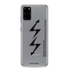 Samsung Galaxy S20 Series Exclusive: LTNG-00 Case I BLACK TEXT / TRANSPARENT - LARS KAIZER