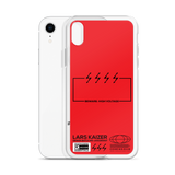 [CUSTOMIZABLE] LTNG TYPOGRAPHY FOR IPHONE | RED - LARS KAIZER