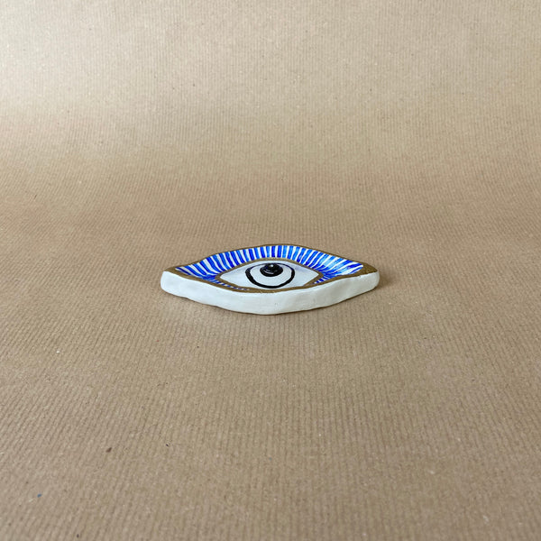 Clay Incense Holder Eye