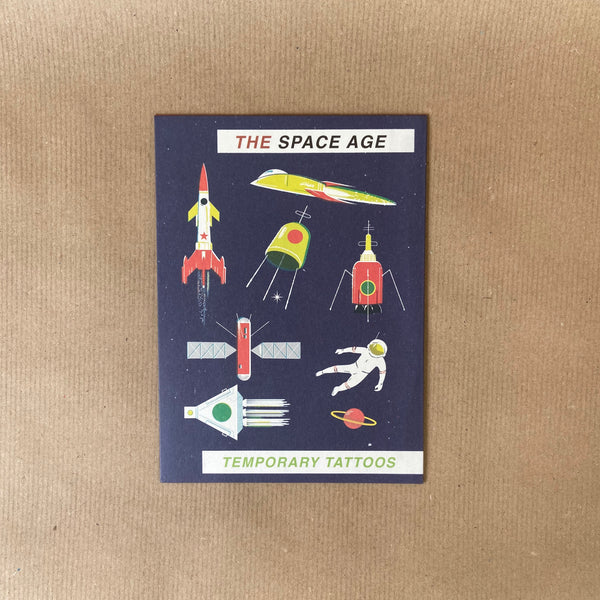Children's Temporary Tattoos – Space Age