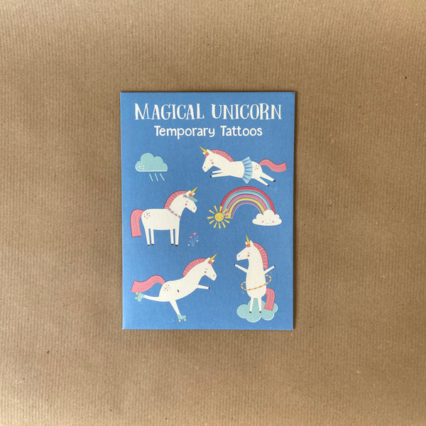 Children's Temporary Tattoos – Magical Unicorn