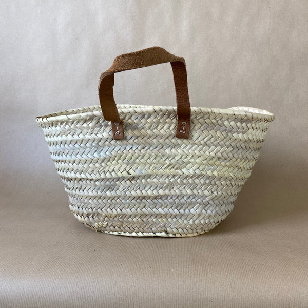 French Basket with Handles - Small