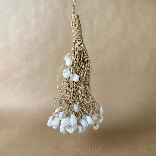 White Shell Tassel