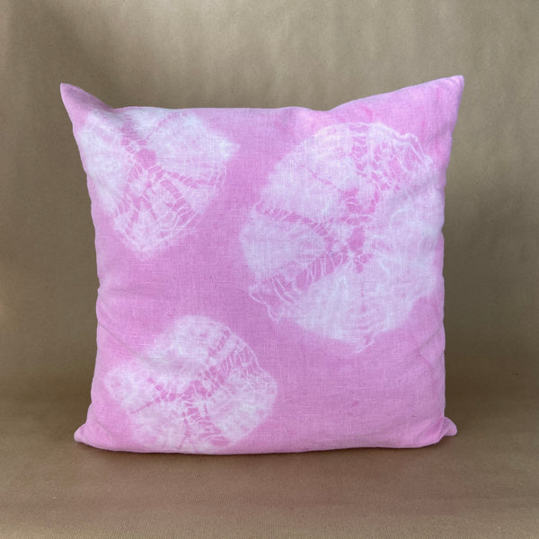 Batik Pillow Linen Rose