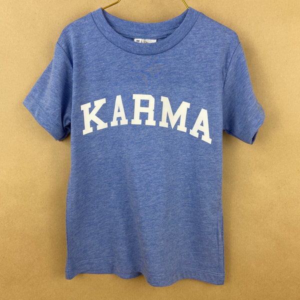 Shirt blue 'KARMA'