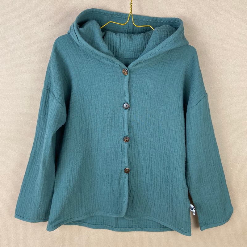 Toddler Hooded Jacket - Turquoise