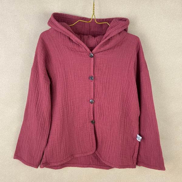 Toddler Hooded Jacket - Bordeaux