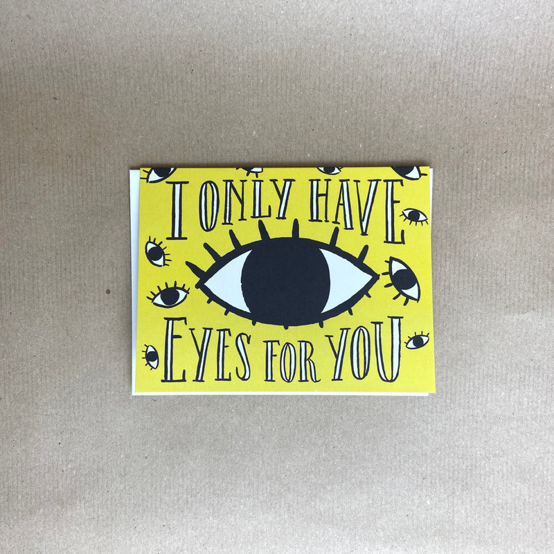 Gift Card - I only have eyes for you