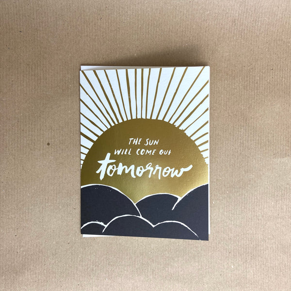 Gift Card - The Sun will come out tomorrow