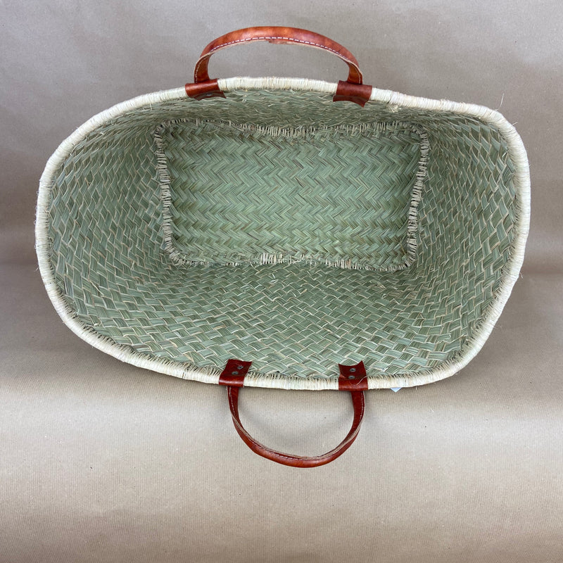 Basket with Handles - Large