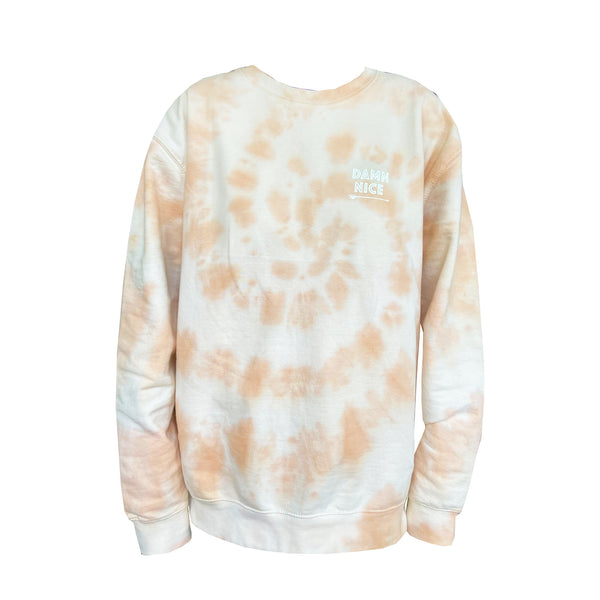 Batik Sweater - Peaches