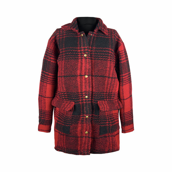 'ROSE' Flannel Jacket