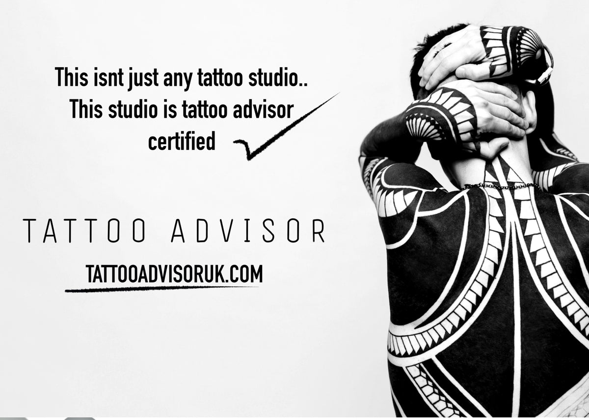 Tamworth tattoo shop is recommended by tattoo advisor uk