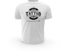 Load image into Gallery viewer, Official INK + OILS signature white premium t-shirt