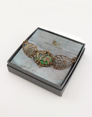 THE LIA FÁIL, STONE OF DESTINY BRACELET - SOLSTICE JEWELRY by Máiréad Nesbitt