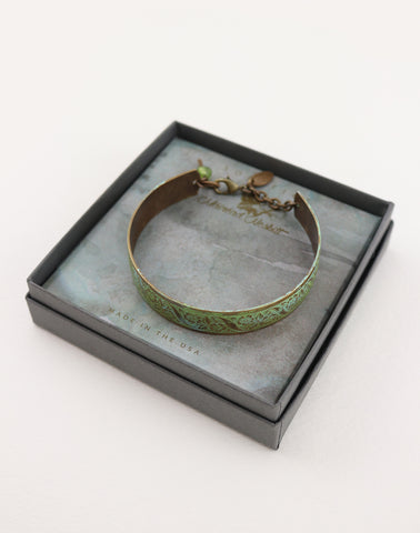 SECRET PASSAGE CUFF BRACELET - SOLSTICE JEWELRY by Máiréad Nesbitt