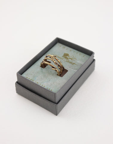 WHIMSICAL BRANCHES RING SET OF THREE - SOLSTICE JEWELRY by Máiréad Nesbitt