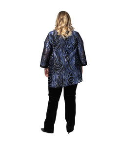 Blue Wave Long Shirt