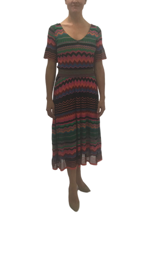 Knitted Belted Dress