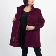 Load image into Gallery viewer, Fleurette Wool Coat