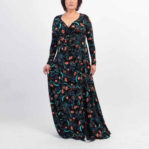 Rachel Pally Long HARLOW Dress - Vine