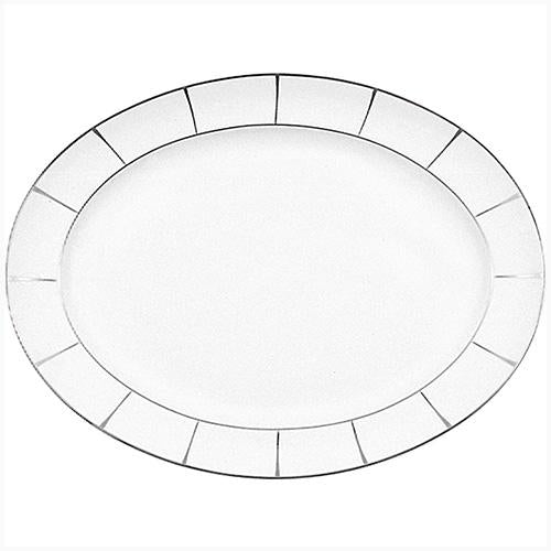 Plato oval Olympus - Excentric - 39 cm